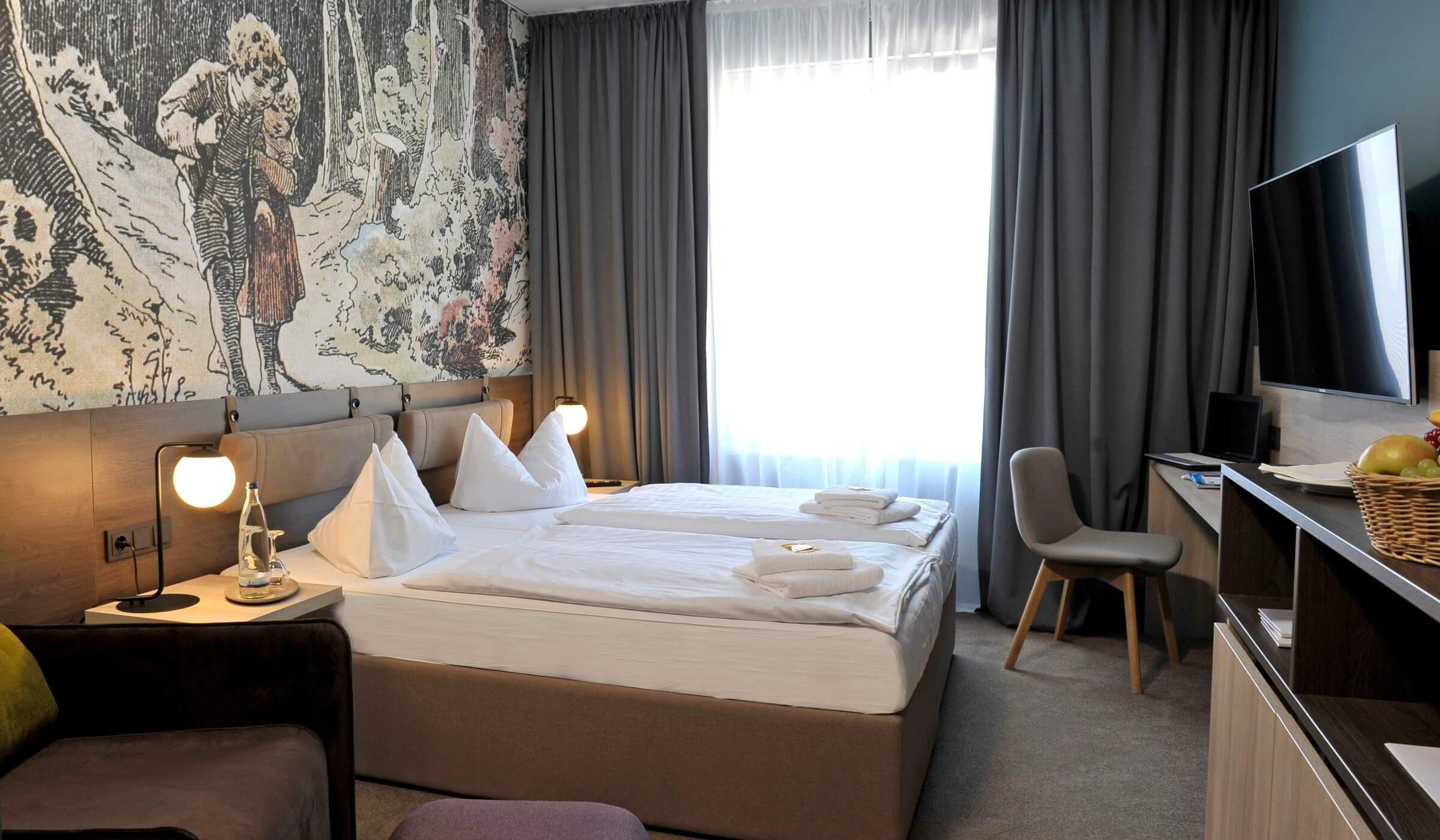 Doppelzimmer Hotel Viktorosa in Hofgeismar